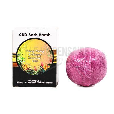 Bombe de bain Ylang -Ylang et CBD - 8.90€