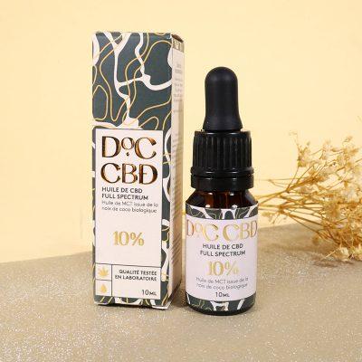 Huile DOC CBD 10% - 29.90€